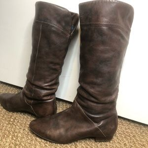 Aldo Tall Slouchy Boots In Brown